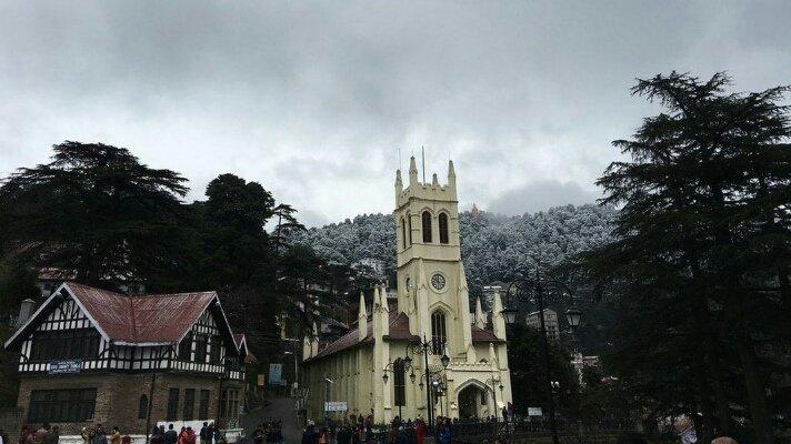Christ church shimla