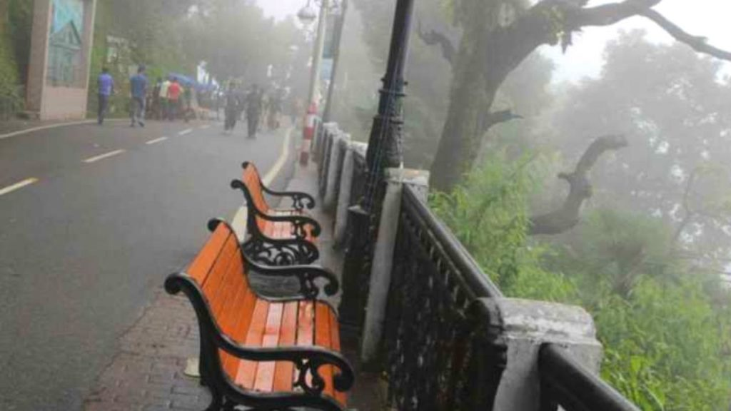 The Mall Road- Mussoorie