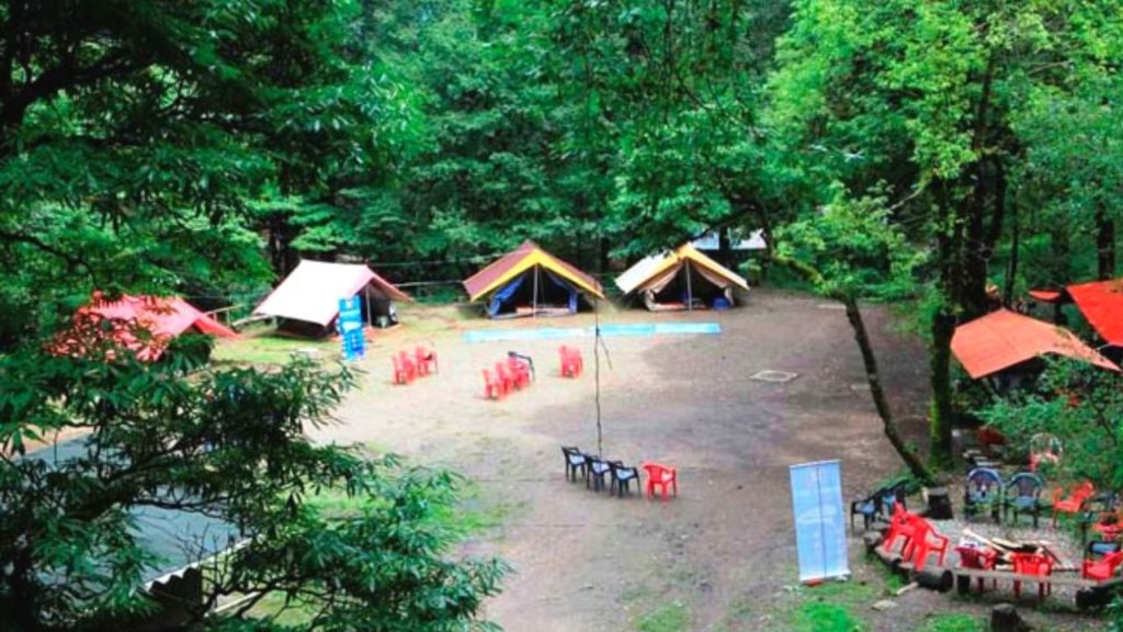 Camping at Nainital Mountains