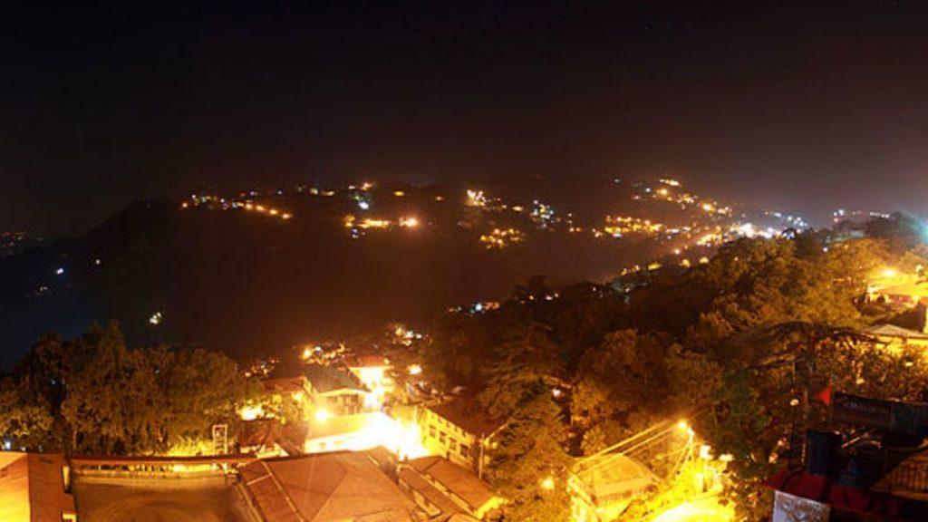 Nightlife in Mussoorie