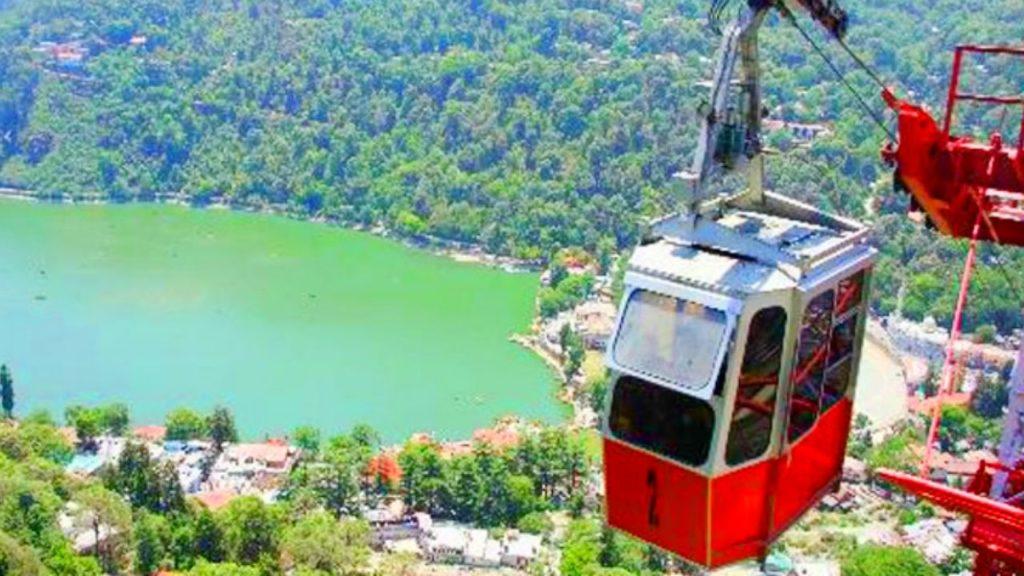 Ropeway Ride in Nainital