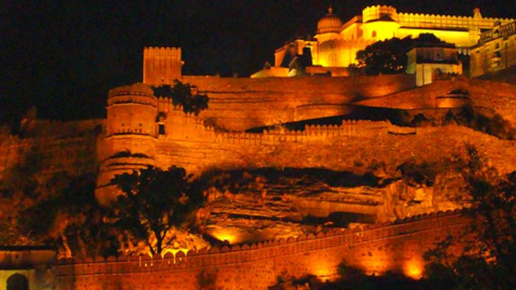 Sound and Light Show at Chittorgarh Fort