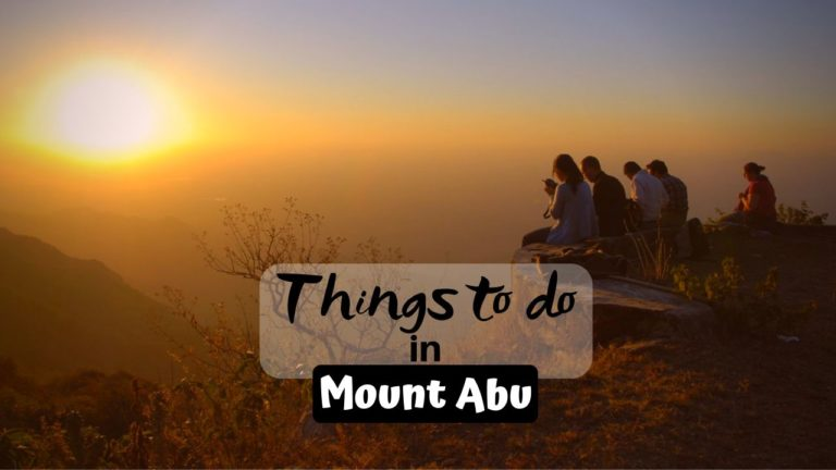 Exciting Things To Do in Mount Abu for Thrilling Trip