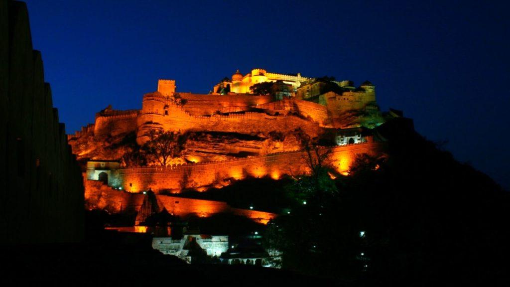 kumbhalgarh fort light show