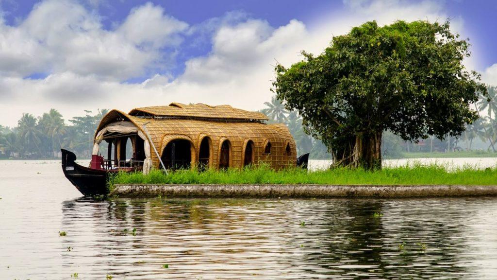 Houseboats at Kumarakom Backwaters