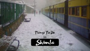 11 Amazing Things to do in Shimla – Queen of Hill Station