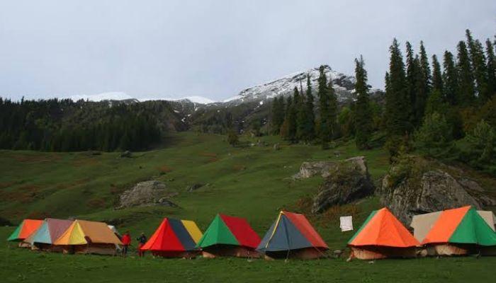 Camping in kullu