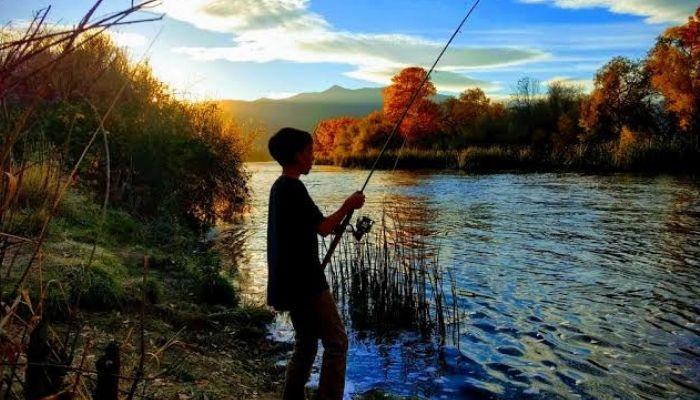 Fishing in Kullu