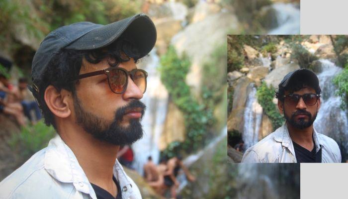 Rishikesh waterfall view