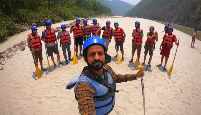 River rafting at shivpuri